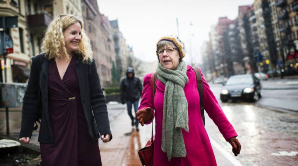 Expressens reporter Karin Sörbring har träffat Agnes Wold. Foto: Robin Aron