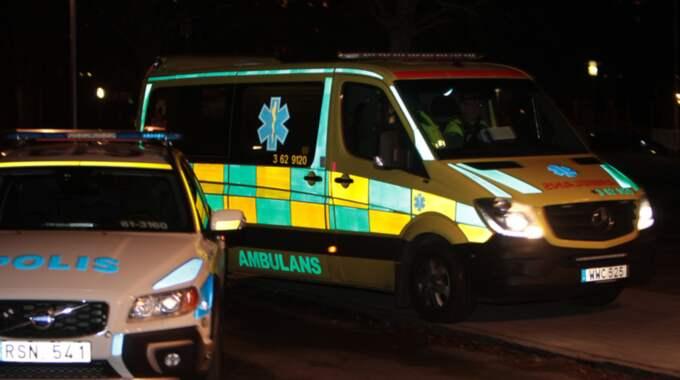Två personer skottskadades på onsdagskvällen i Malmö. Foto: Peo Möller / TOPNEWS.SE