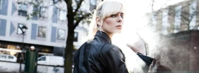 Rocktjej. The Sounds-sångeskan Maja Ivarsson vill vara som Mick Jagger på scen - fast i högklackat. Foto: Anna-Karin Nilsson