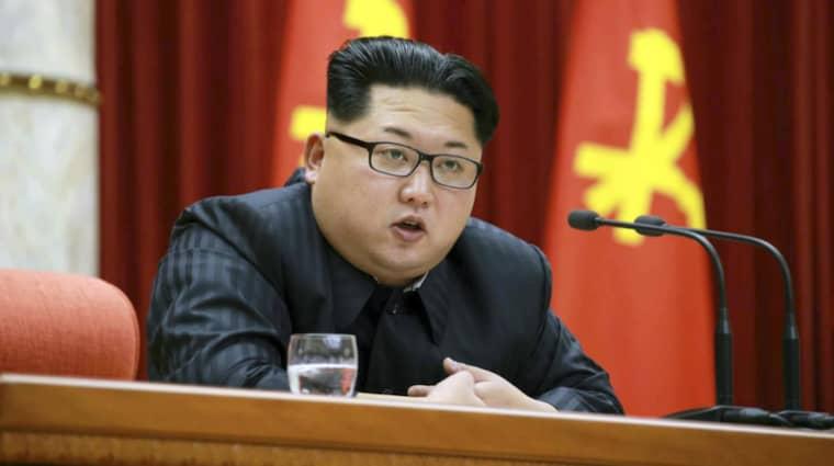 Det var redan i september som Nordkorea meddelade att de skulle återuppta sin verksamhet vid framställningsverket. Men det är först nu som detta är bekräftat. Foto: Rodong Sinmun/Epa/TT