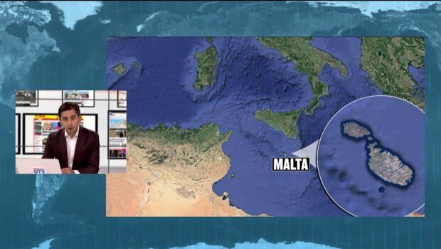 Fem döda i flygplanskrasch på Malta