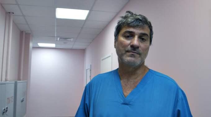 """Paolo Macchiarini har nu fått sparken från Karolinska Institutet. Bilden kommer från SVT:s dokumentär """"Experimenten"""". Foto: SVT"""