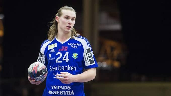 "Lukas Nilsson, handbollens ""Lucky Luke"". Foto: Johanna Lundberg"