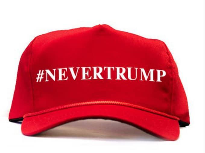 """Keps - """"Aldrig Trump"""" är budskapet som Marco Rubio vill pränta in"""