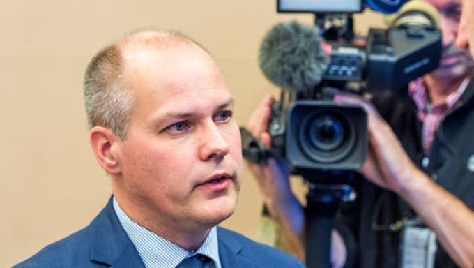 Migrationsministern Morgan Johansson. Foto: Pelle T Nilsson