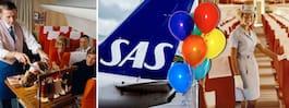 SAS fyller 70 år! Kolla retrobilderna från förr