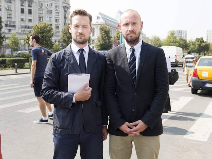 David Baas och Sven Lindwall