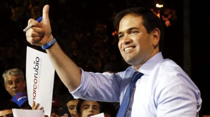 Marco Rubio. Foto: Paul Sancya / AP TT NYHETSBYRÅN