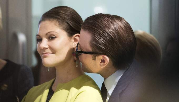 Kronprinsessan Victoria och prins Daniel. Foto: Anders Ylander