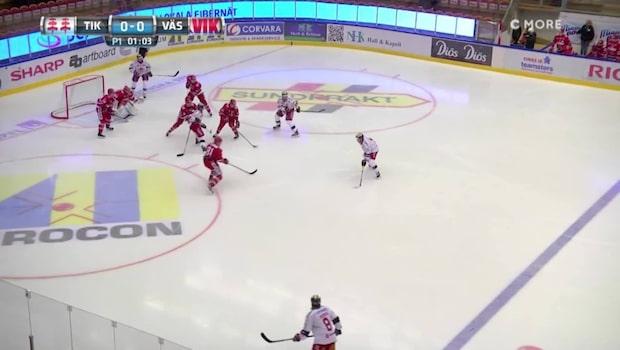 HIGHLIGHTS: Timrå-Västervik 6-2
