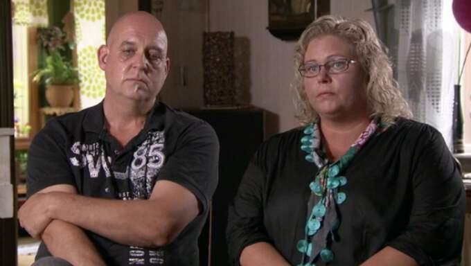 Micke och Kajsa förlorade sin dotter i leukemi. Foto: Kanal 5