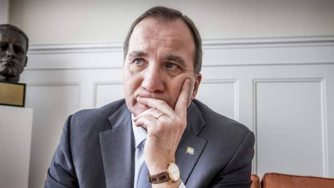 Stefan Löfven. Foto: Magnus Hjalmarson Neideman/Svd/Tt