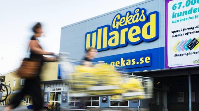 Under fjolåret sålde varuhuset Gekås varor för 5,2 miljarder kronor. Foto: Robin Aron