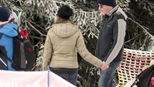 Madeleine och Chris på romantisk semester