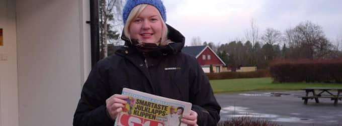 I slutet av månaden sätter Lovisa Andersson in alla pengar hon tjänat under helgerna. Det kan röra sig om 1200 kronor ungefär.