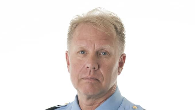 Stefan Gustafsson vid polisen. Foto: POLISEN