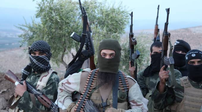 Upp till 200 assyrier har tillfångatagits efter IS attacker mot kristna byar. Foto: Medyan Dairieh