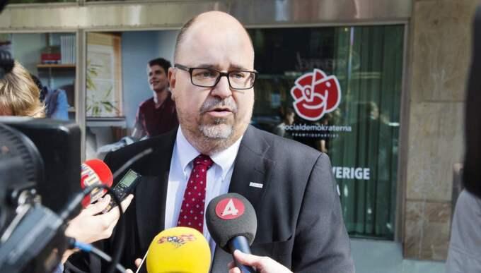 LO:s ordförande Karl-Petter Thorwaldsson. Foto: Alexander Donka