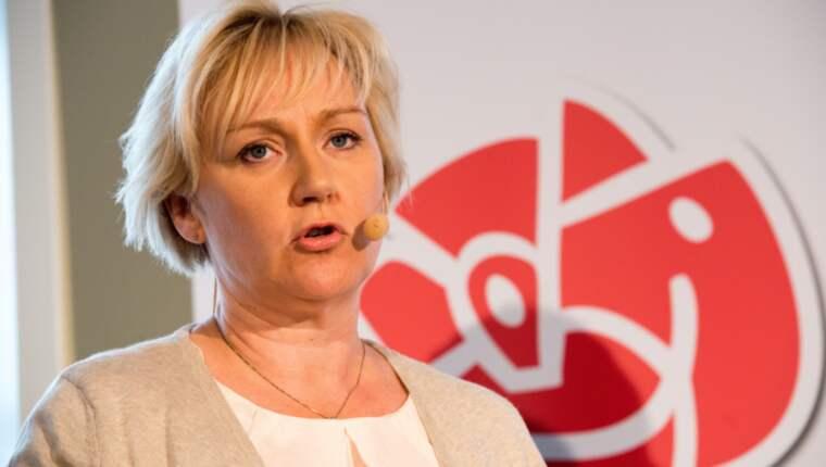 Forskningsministern Helene Hellmark Knutsson menar att affären riskerar att skada förtroendet för KI och Sverige. Foto: Julia Reinhart