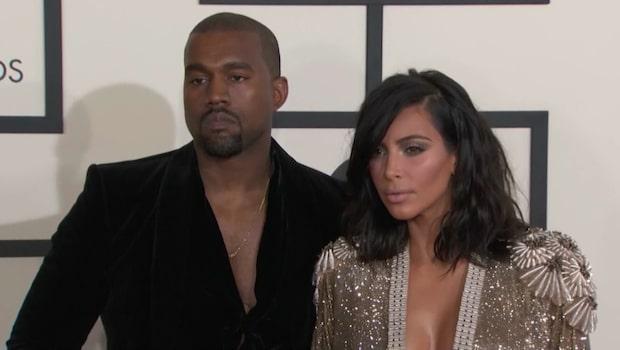 Därför bor inte Kim och Kanye ihop efter kollapsen