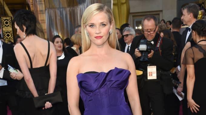 Skådespelaren Reese Witherspoon är mottagaren av hälsningen. Foto: Richard Shotwell