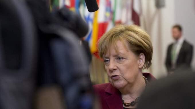 Angela Merkel hade även kallat till ett förmöte. Foto: Virginia Mayo