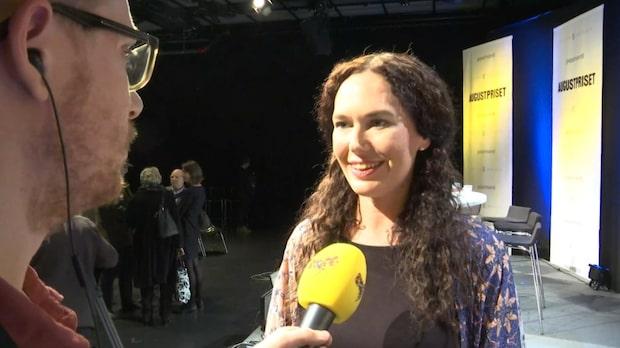 """Therese Bohman: """"Sån författare som blir nominerad, jättecoolt!"""""""