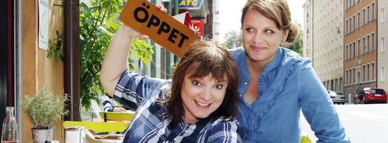 Expressens Malin Roos möter Lotta Bromé. Foto: Cornelia Nordström