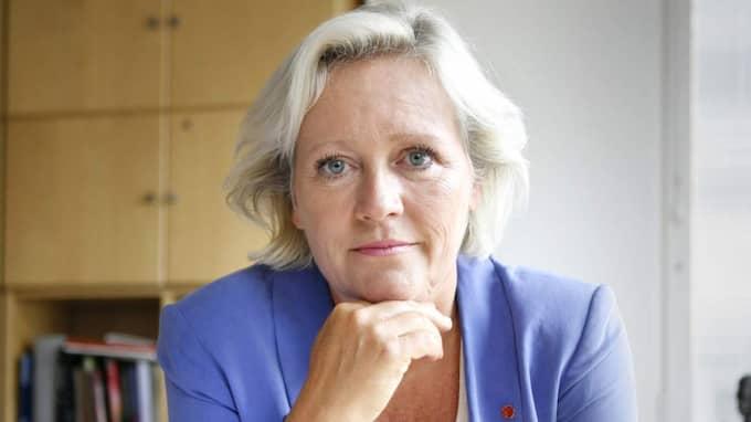 """Elisabeth Dahlin, generalsekreterare på Rädda barnen, beskrev det som skildras på filmen på vaktingripandet på Malmö central som """"barnmisshandel"""". Foto: Theresia Bråkenhielm"""
