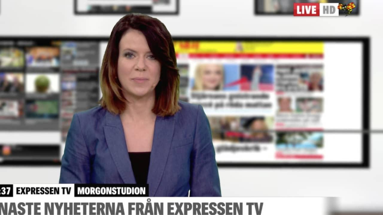 Live Tv Senaste Nyheterna Fr N Expressen Tv