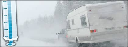 I Norge har det varit rekordkallt i december. Om vädret följer prognosen lär det bli ett köldrekord även i Sverige. OBS! Bilden är ett montage. Foto: Scanpix