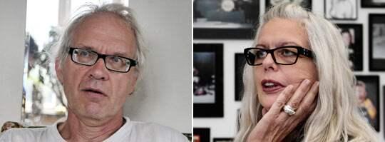 Lars Vilks och Marianne Lindberg De Geer.