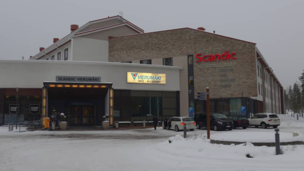 Scandic i finska hålan Vieurmäki. Foto: Tomas Pettersson.