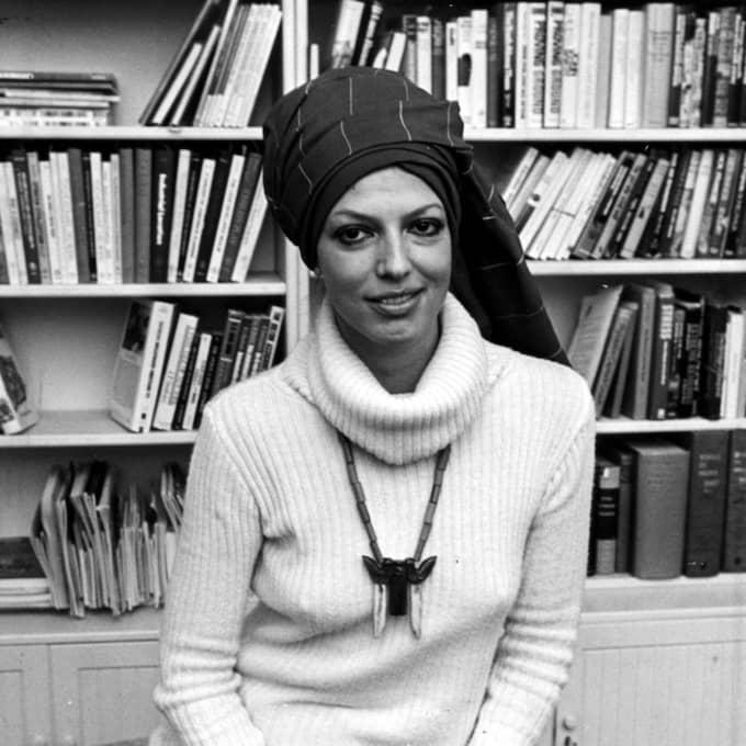 Författaren som ung, 1975. Foto: GT/ PRESSENS BILD