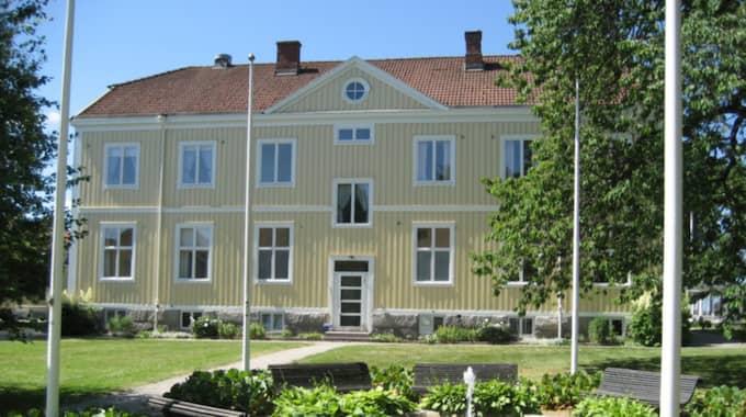 Här är Grimslövs folkhögskola i Alvesta kommun.