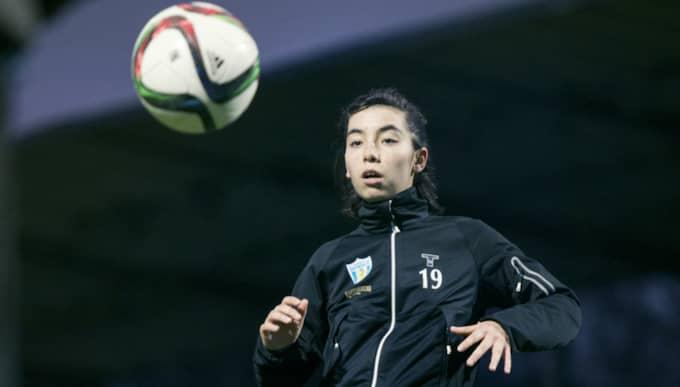 17-åringen kommer närmast från division 2-klubben Göteborgs DFF. Foto: Robin Aron