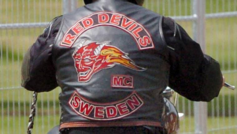 De misstänkta har kopplingar till mc-klubben Red Devils, en supportergrupp till Hells Angels. Foto: Lasse Svensson