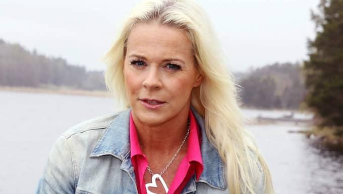 Malena Ernman skriver om sin sorg. Foto: Cornelia Nordström