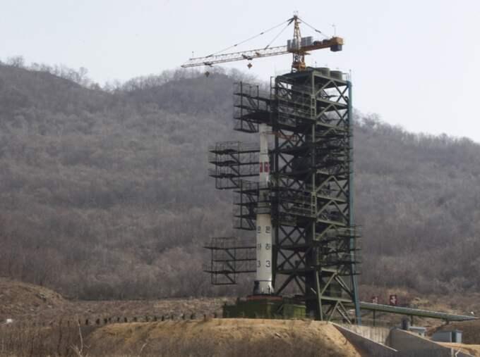 Tongchang-ri är platsen där Nordkorea brukar genomföra sina missiltester. Foto: Ng Han Guan