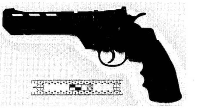 Sedan sköt de honom med ett 30-tal skott. Foto: Polisen