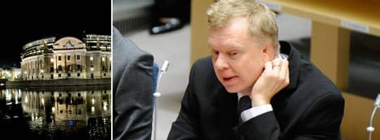 Lars Isovaara har anmälts för förolämpning av en riksdagsvakt.