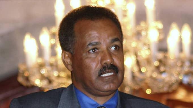 Eritreas president Isaias Afewerki är ytterst ansvarig för det som sker i Eritrea. Foto: Khaled Abdullah