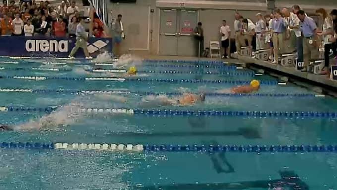 Svenskan tar i kaklet – och är över sekunden före tvåan, Dana Vollmer.