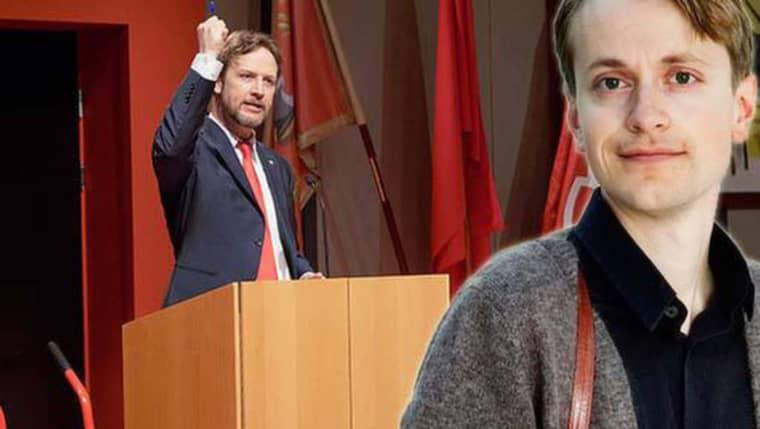 """""""Visst är det tjatigt med de plakatpolitiska reflexerna i svensk teater. Men mindre för att de är vänster än som del av en allmän övertydlighet."""" Foto: Micke Sandström"""