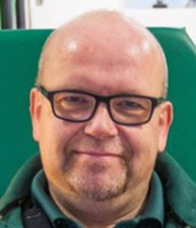 Pär Johansson, ambulanssjukvårdare. Foto: Privat