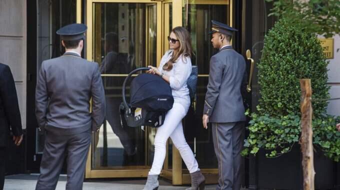 De byter alltså New York mot Stockholm inför förlossningen. Foto: Linda Forsell