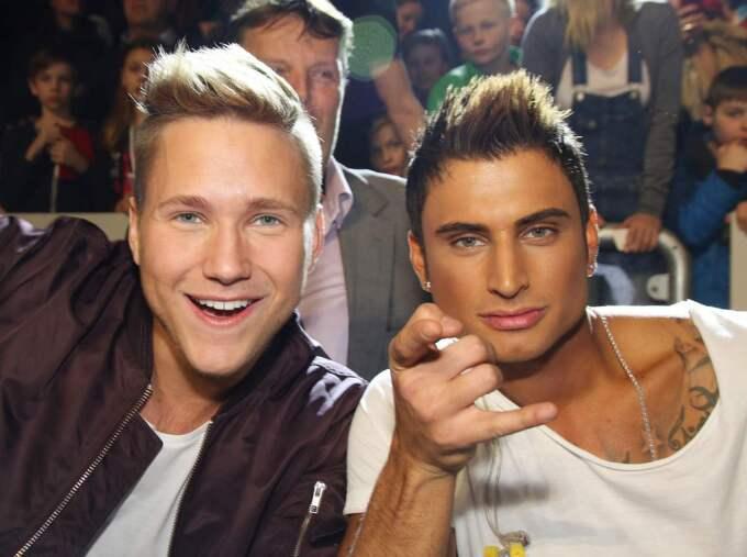 Samir & Viktor är också klara för Melodifestivalen. Foto: Mattias Hansson