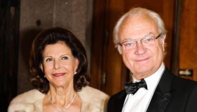 Silvia och kungen. Foto: Justina Rosengren