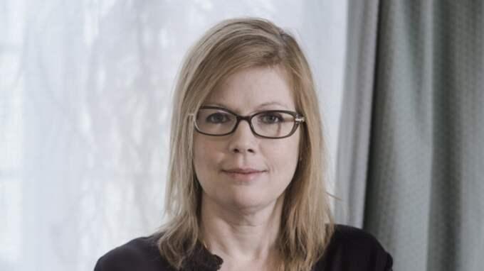 Anna Starbrink. Foto: Malin Hoelstad / Svd / Tt