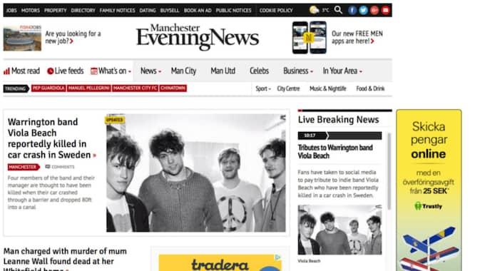 Manchester evening news.
